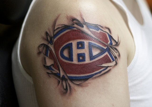 Tattoo Montreal Canadiens
