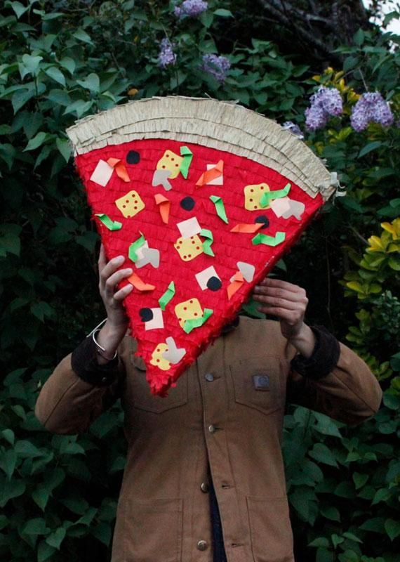 What kind of pizza is stuffed with candy? A pizza piñata, of course. #EtsyFinds