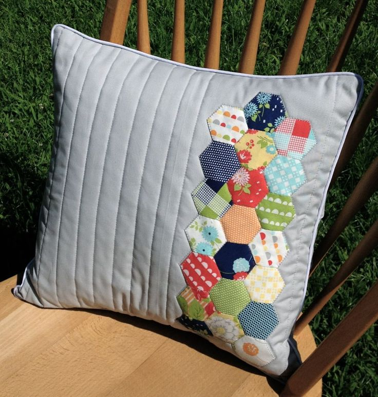 Hexagon Pillow from Sassy Quilter