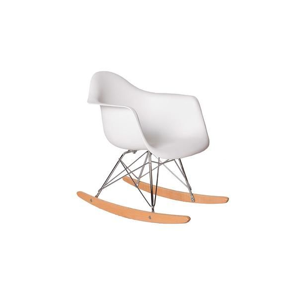 Children S Chelsea Rar Rocking Chair White Children S Eames Style Rar Molded Plastic Roc Rocking Chair Childrens Rocking Chairs Leather Chaise Lounge Chair