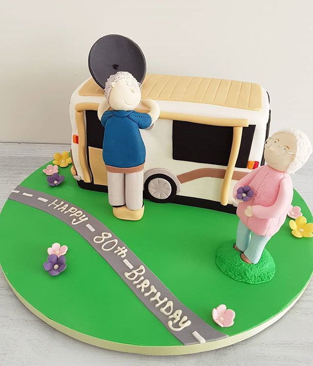 Hi Cakies... Such a fun cake for the travelling grandparents.  www.redapron.com.au