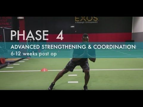 Best ACL Exercises | How to Recover From ACL Reconstruction Surgery | Phase 2 - YouTube