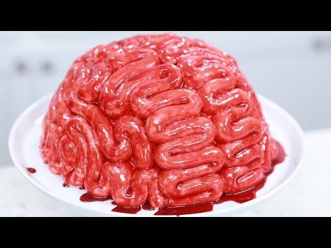 How to make a Zombie Brain Cake | Rosanna Pansino