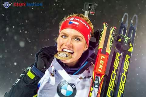 Gold medalist in Ostersund 5.11.2015      #ceskybiatlon