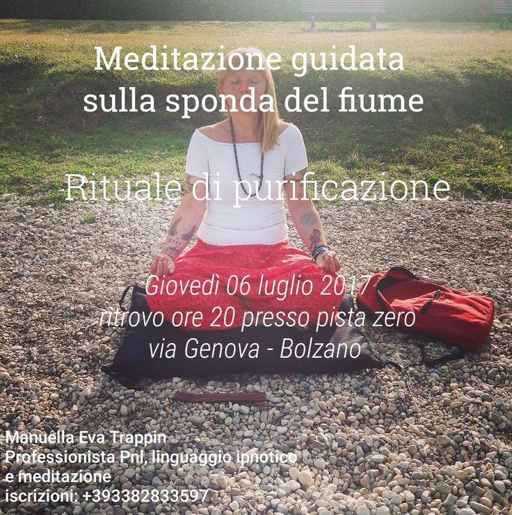 La meditazione non é una fuga dalla realtà ma un incontro con essa...
