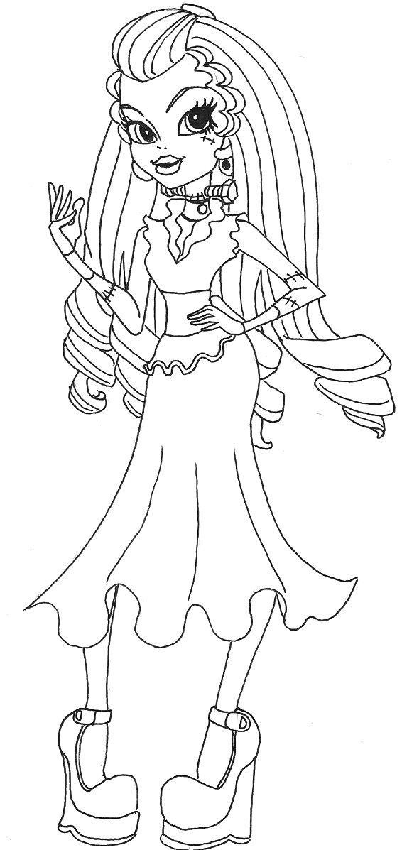 343 best Monster High images on Pinterest Monsters, Monster high - copy monster high gooliope jellington coloring pages