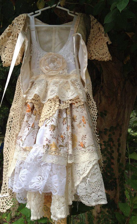 Gypsy Fairy Clothing   Woodland Fairy Dress//BOHO/Gypsy/Girls Dress//Free the by RainRene, $ ...