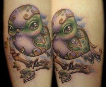 Sample Artist - Paisley Bird Tattoo