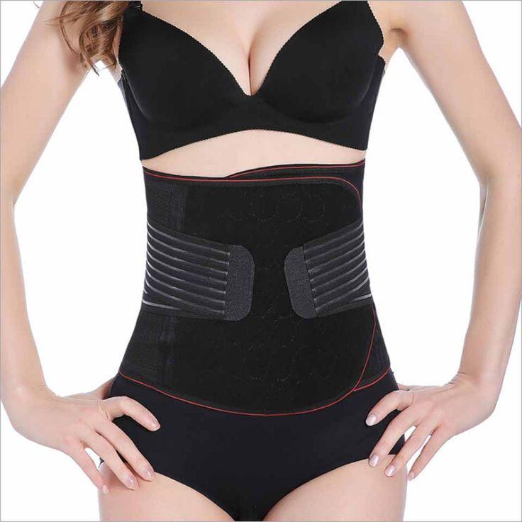 Modeling strap Waist trainer hot shapers cincher women slimming sheath body shaper belt fajas bodysuit cinta girdle shapewear