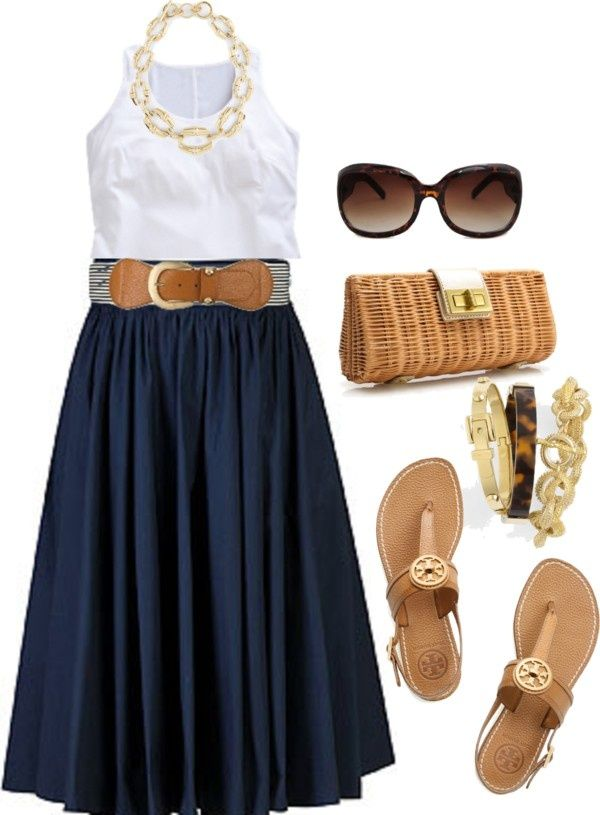 """Navy - Plus Size"" by alexawebb ❤ liked on Polyvore"