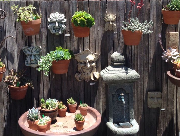 119 best vertical - small space garden design with flower pots