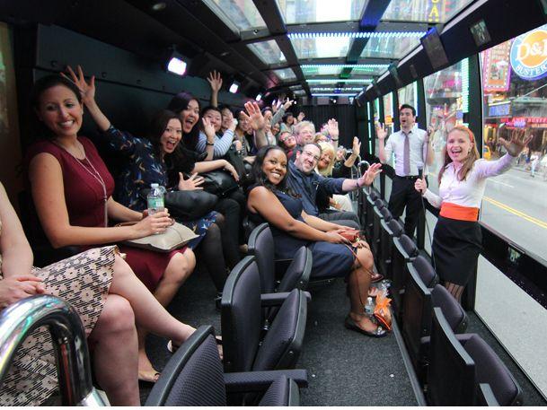 THE RIDE bus tour New York