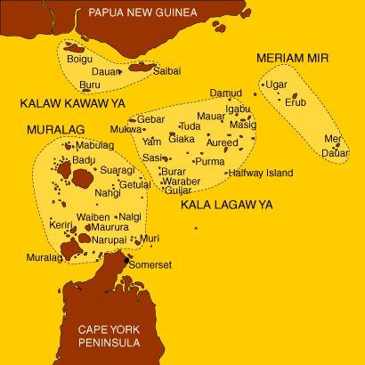 Torres Strait Islands - Island groups