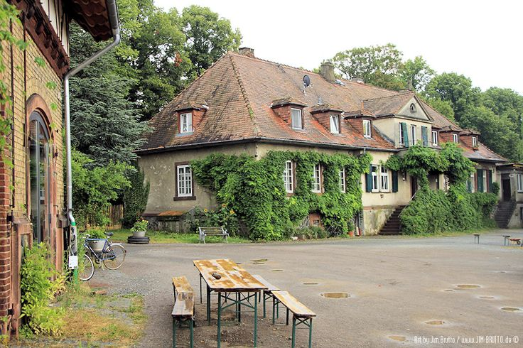 Fischerhütte Darmstadt - Umgebung