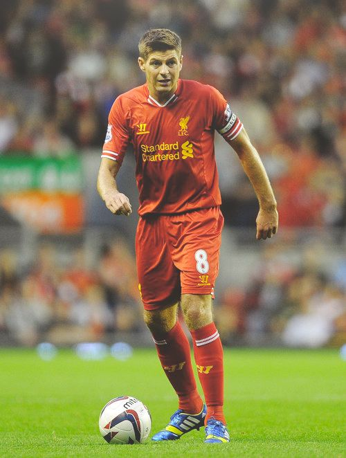 6 Steven Gerrard  Name in native country:	Steven George Gerrard Date of birth:	30.05.1980 Place of birth:	Whiston   Age:	33 Height:	1,83 Nationality:	  England Position:	Midfield - Central Midfield Foot:	right Market value:	6.600.000 £ 7.500.000 €