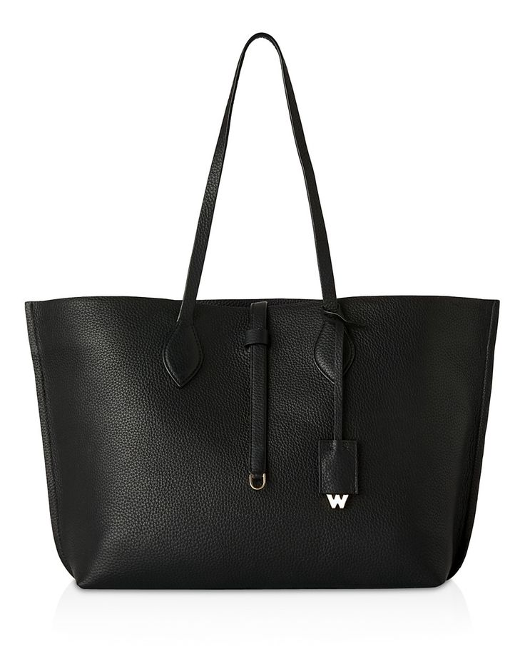 WHISTLES Whistles Regent Soft Tote. #whistles #bags #leather #hand bags #lining #tote #cotton #