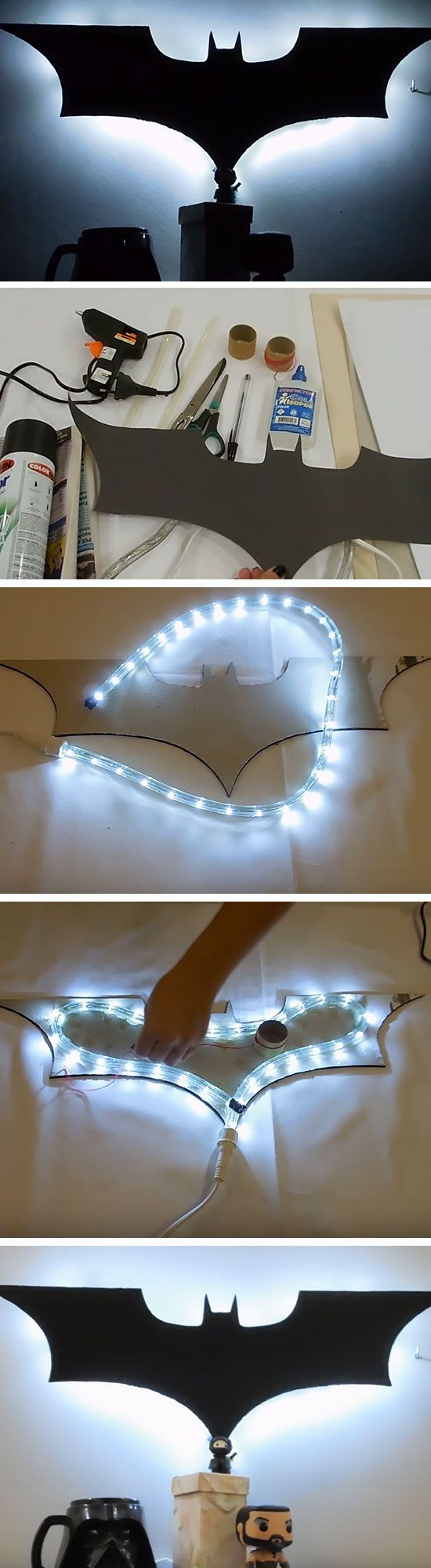 25 unique batman wall art ideas on pinterest batman room 18 diy man cave decor ideas for small spaces amipublicfo Image collections