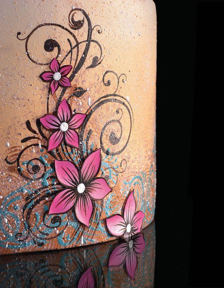 109 best cakes art paint images on pinterest art cakes for Airbrush tattoo paint