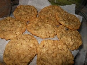 Alisa's Trail Mix Cookies