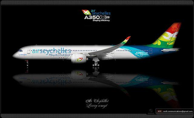 Air Seychelles / Airbus A350XWB / Livery concept