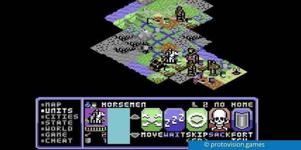 26 Jahre nach der Erstveröffentlichung erscheint Civilization als Fan-Remake doch noch für den C64.