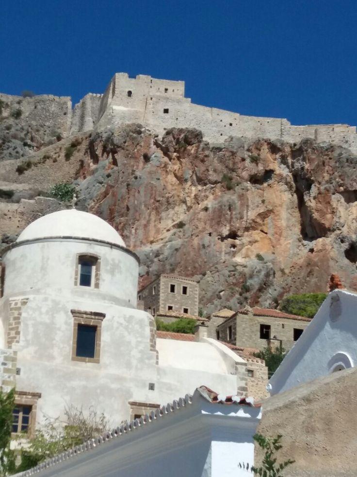 Mnemvasia Castle  Greece