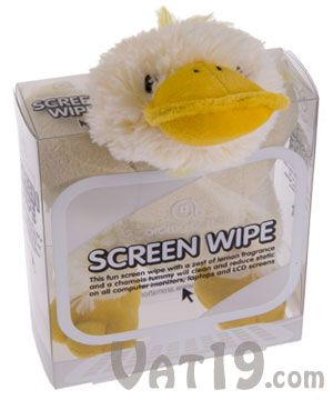 Computer Care Screen Wipes-and when not in use they can sit above your screen!
