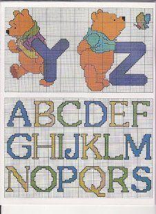 Winnie the Pooh alphabet 7 of 8