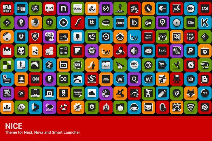 Nice theme for Next Launcher3D - screenshot