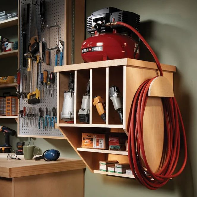 Storing Your Compact Compressor | The Family Handyman
