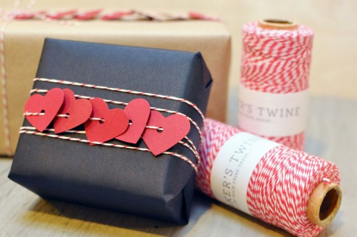 Valentine's gift wrapping ideas