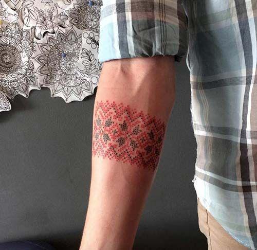 lace armband tattoo dantel desenli kol bandı dövmesi
