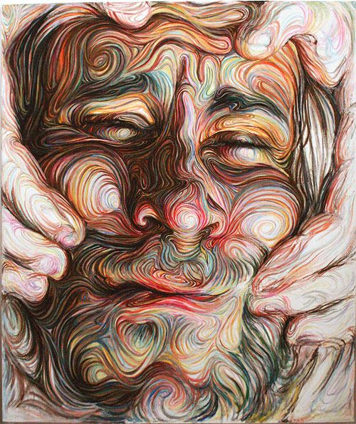 Artist Nikos Gyftakis has created some of the most crazy, intricate portraits I've seen.