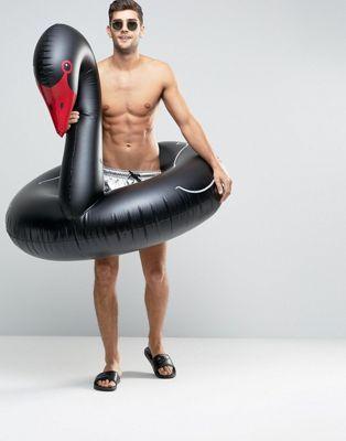 Надувной круг для бассейна Black Swan