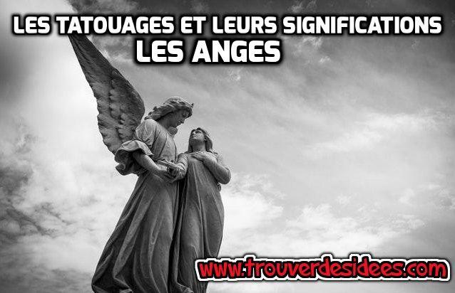 Les tatouages et leurs significations : les anges #tatouages #tatouage #ange #peau