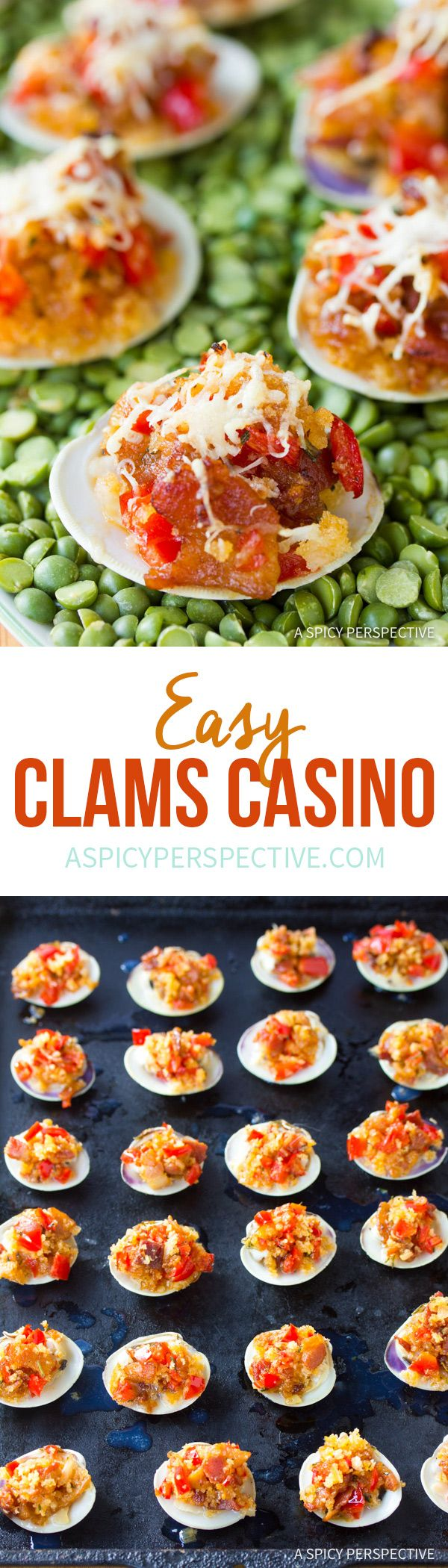 Perfect Clams Casino Recipe | ASpicyPerspective.com