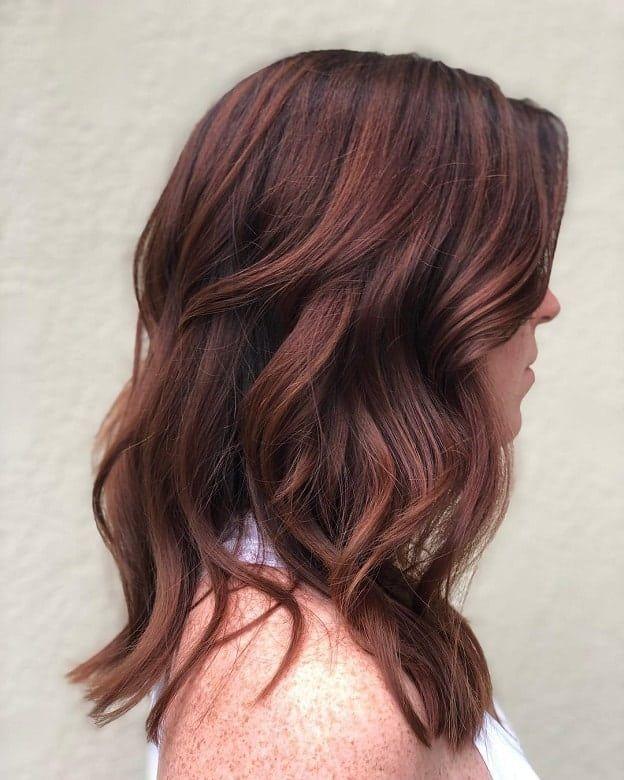 19+ Auburn brown hair dye inspirations