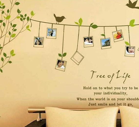 Zet - this one is so you!!!  Vinyl Tree Wall Decals Tree Wall Stickers Interior by Jaystore, $46.99