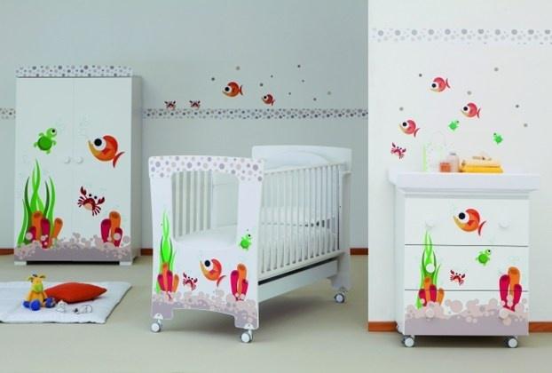 Come arredare la cameretta per il neonato: dalla scelta dei colori all'arredo, tutti i consigli utili. http://www.leonardo.tv/camerette-per-bambini/arredamento-interni-cameretta-neonati