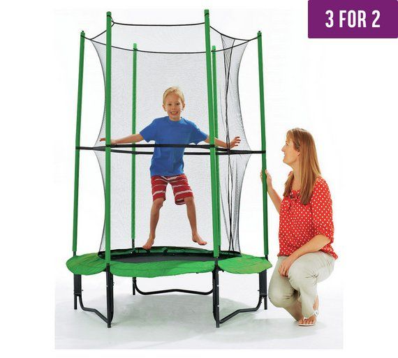 Buy Chad Valley 4ft My First Trampoline and Enclosure at Argos.co.uk, visit Argos.co.uk to shop online for Trampolines and enclosures, Trampolines and accessories, Outdoor toys, Toys