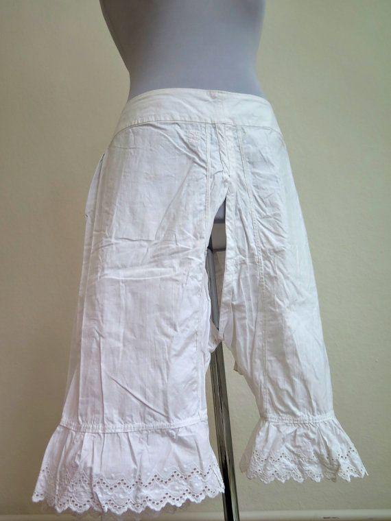 Vintage Bloomers Pantaloons - white underwear