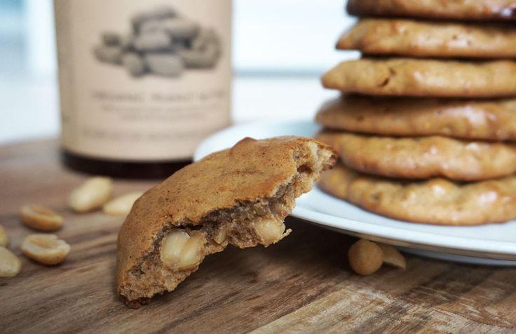 Supersnabba, glutenfria peanut butter cookies - ceciliafolkesson.se – Naturlig mat & Hälsa