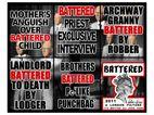 "Bernier/EliadesGallery | Gilbert & George |""Battered"",2011| 151 x 190 cm |Photo by Boris Kirpotin"
