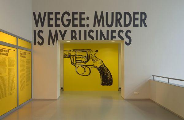Weegee: Murder is My Business by Kummer & Herrman , via Behance