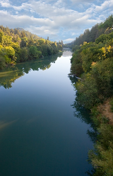 The Russian River in Mendocino County, California. Runs right through my home town.