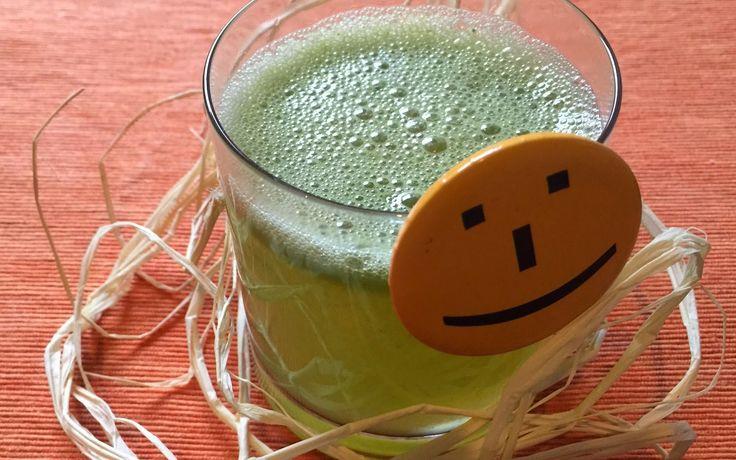 Zmięty sok jabłkowy, czyli sok jabłkowy z miętą / Home made Apple Juice with Spearmint