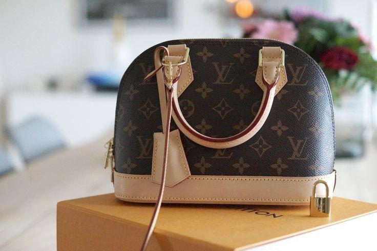 My perfect Louis Vuitton Alma BB bag <3 #monogram #louisvuitton #louisvuittonalma #alma