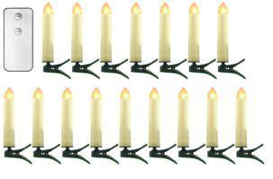 Trådløs juletrebelysning med fjernkontroll Tilbud 299,-