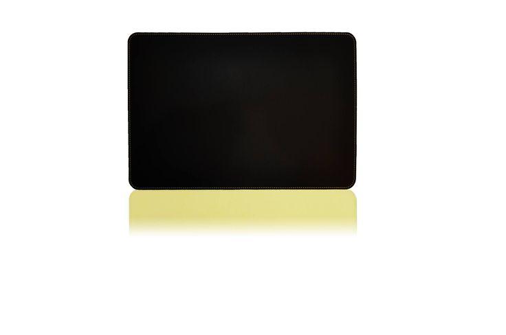 AZUMAYA leather deskpad Yellow