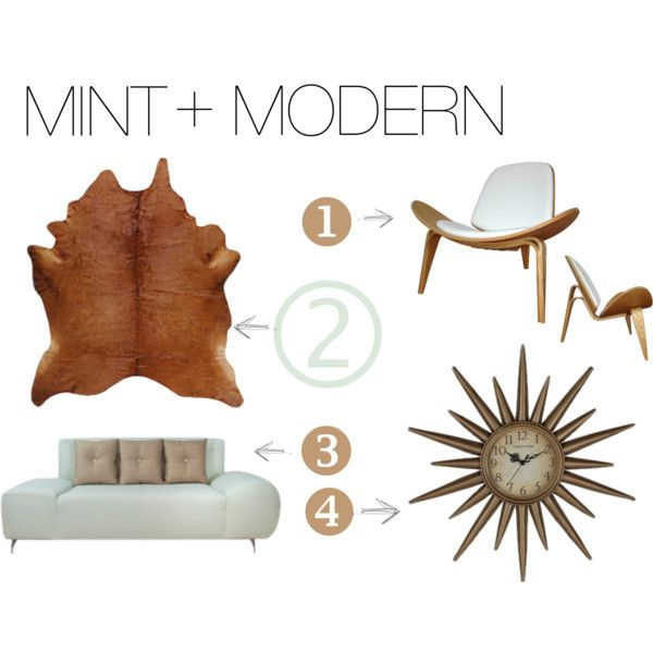 Adding A Splash Of Mint To This Eclectic Combination Of Neutral Colored  Mid Century